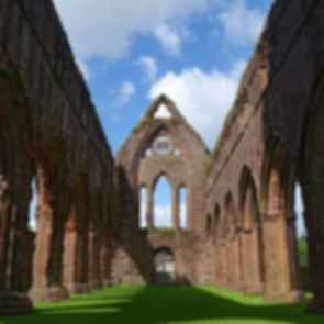 Sweetheart Abbey - Pillars/Window Frame