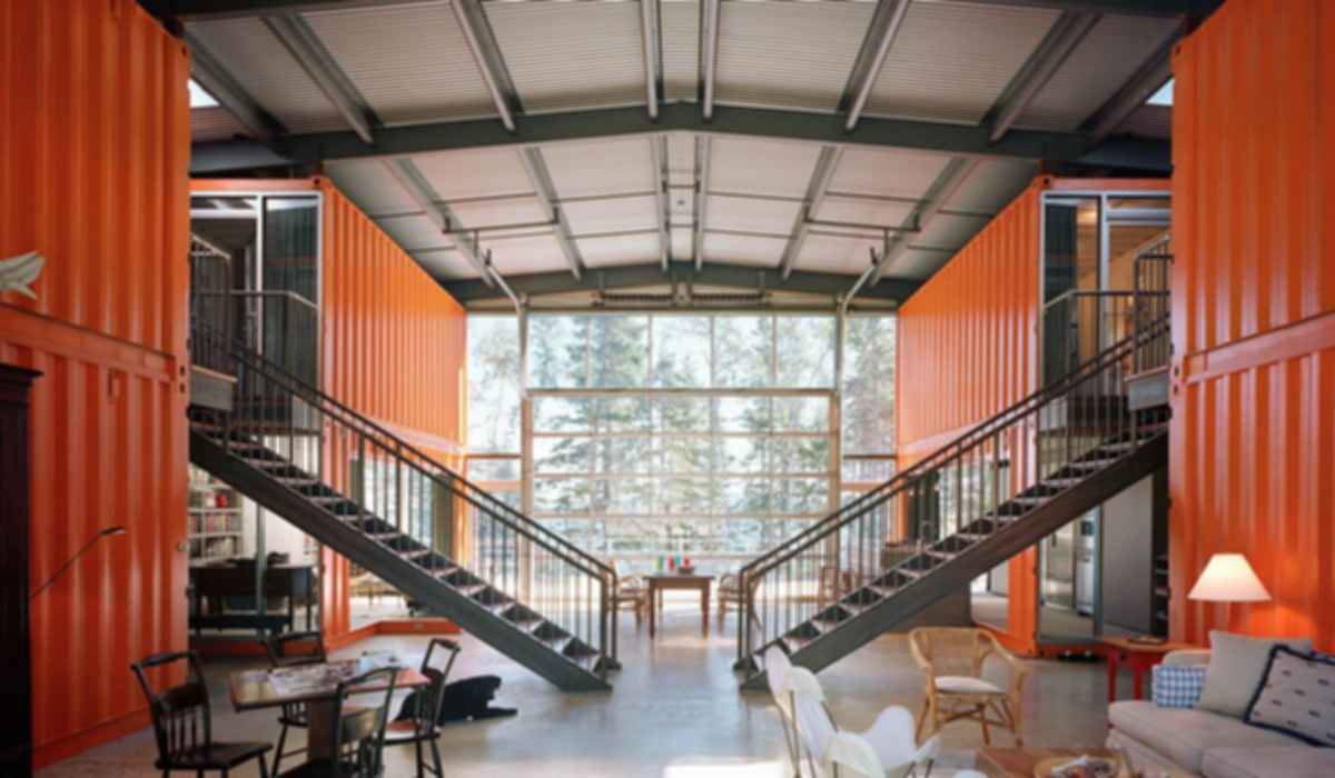 Container House - Interior