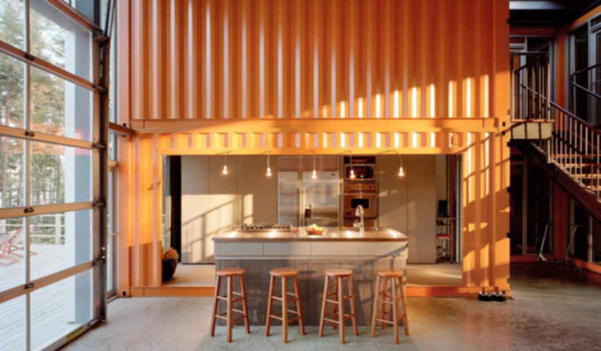 Container House - Interior Kitchen