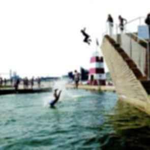Copenhagen Harbor Bath - Pool/Jumping Ledge