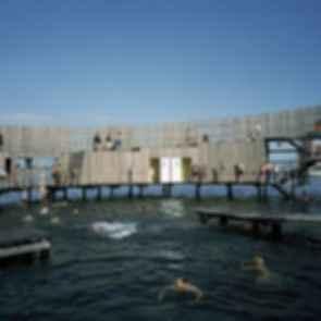 The Kastrup Sea Bath - Building/Jumping Ledges