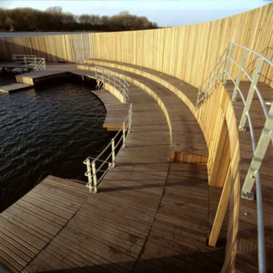 The Kastrup Sea Bath - Seating/Jumping Ledges