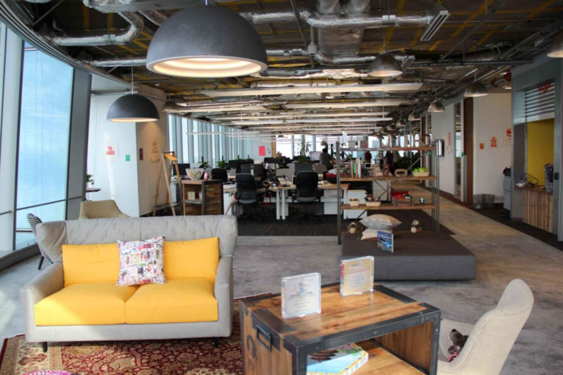 Facebook Headquarters Interior - Offices