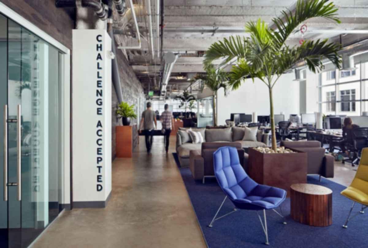 Dropbox Headquarters - Lounge Area
