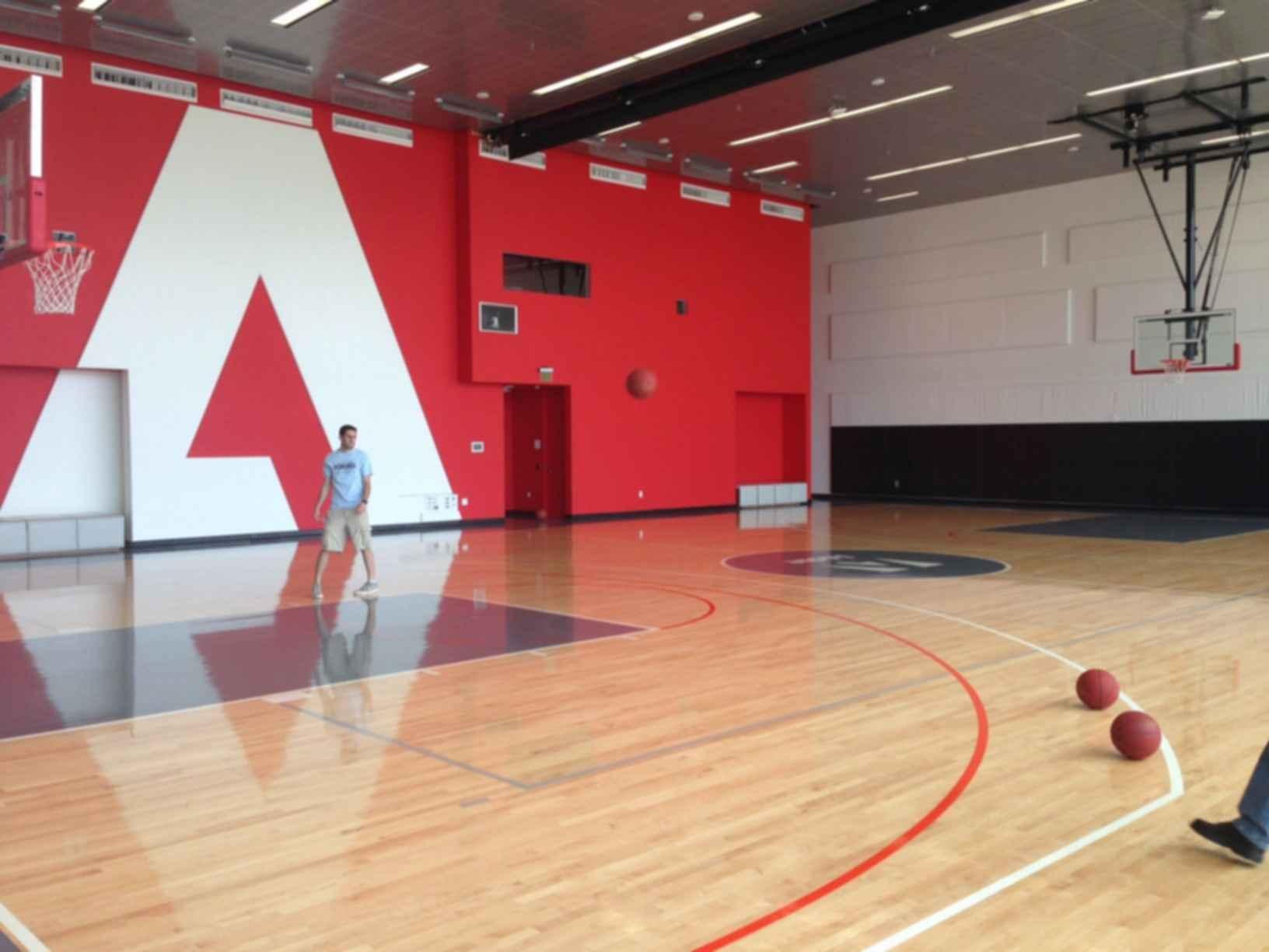 Adobe Utah Campus - Basketball Court