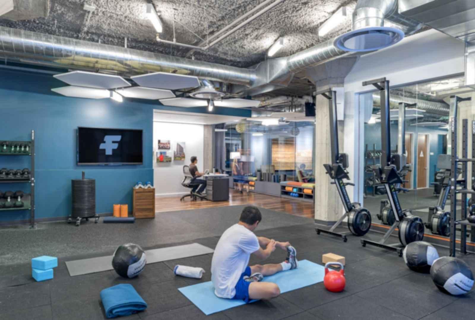 Twitter Headquarters - Gym