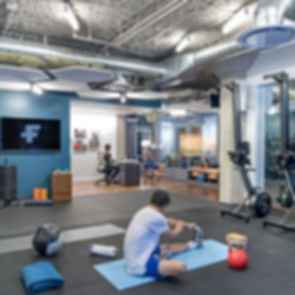 Twitter Headquarters - Gym