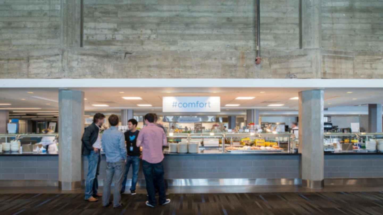 Twitter Headquarters - Cafeteria