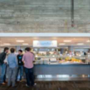 Twitter Headquarters - Cafeteria