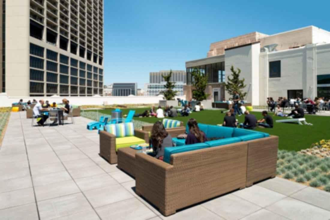 Twitter Headquarters - Outdoor Space