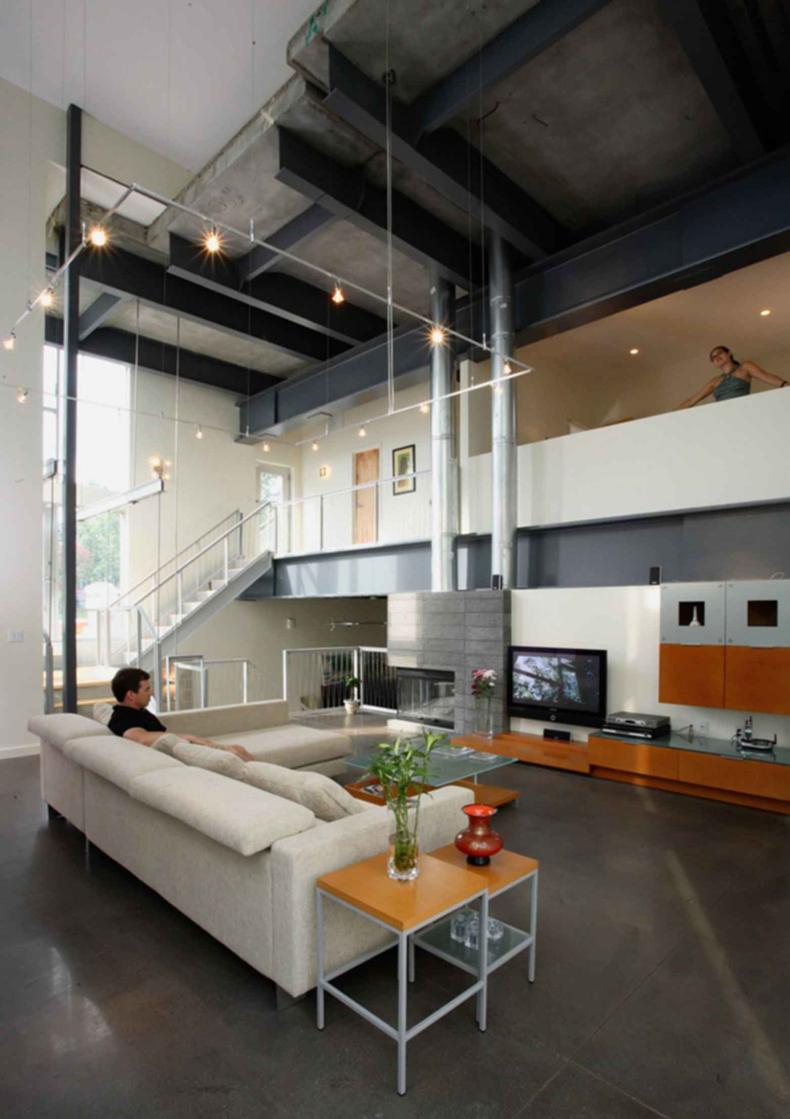 Big Dig House - Interior/Lounge