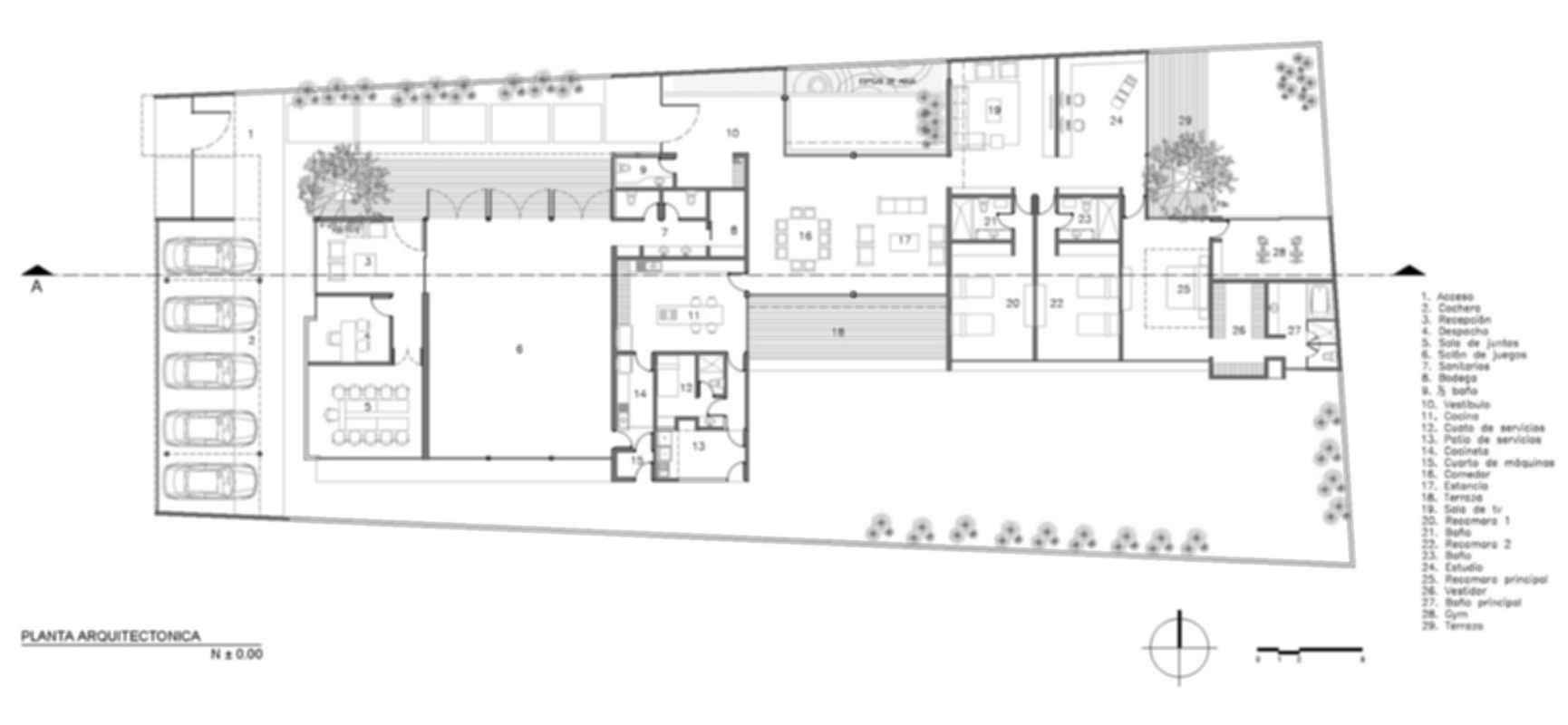 TCH House - Floor Plan