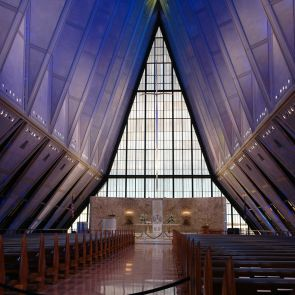 US Air Force Academy Chapel - Interior