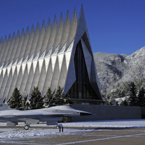 US Air Force Academy Chapel - Exterior