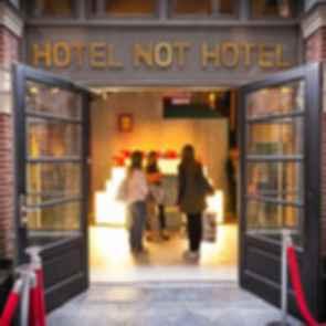 Hotel Not Hotel - Entrance/Reception