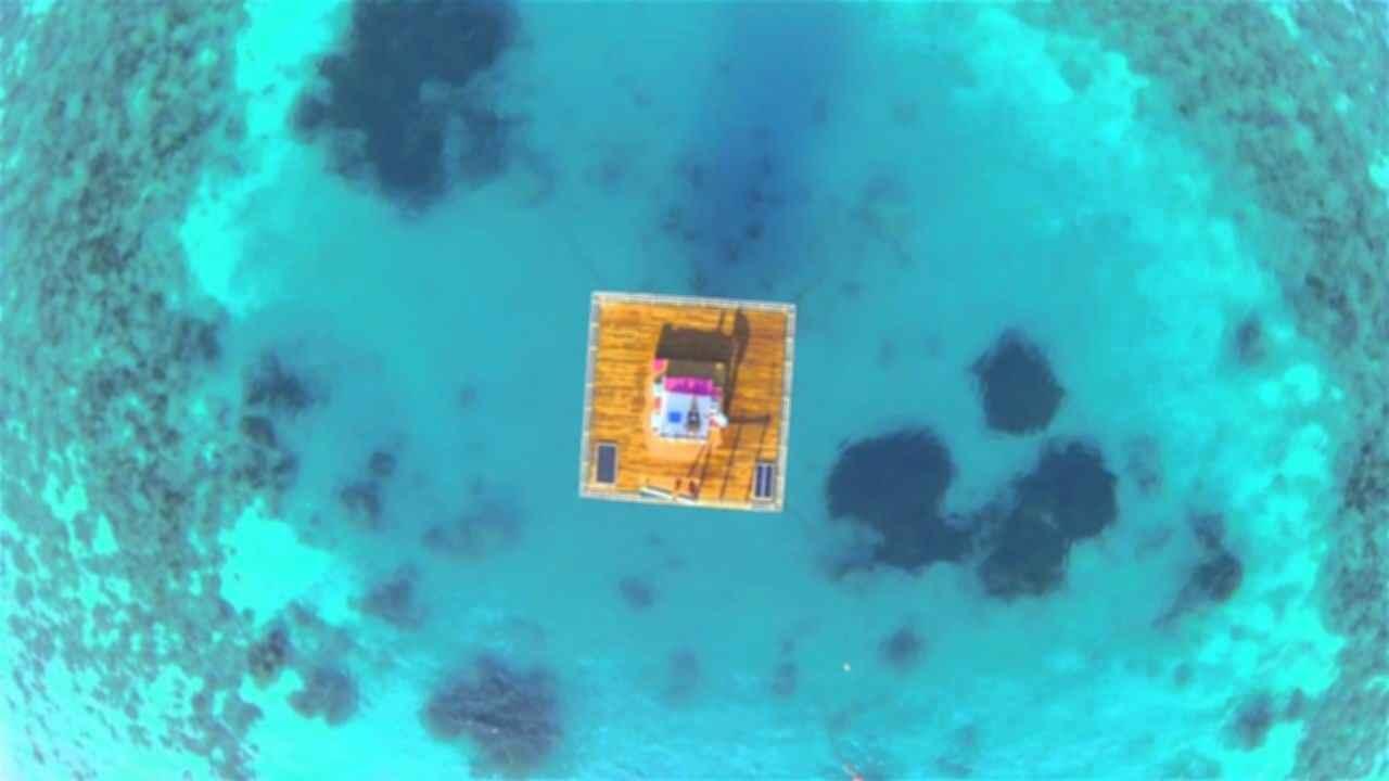 The Manta Resort - Birds Eye View
