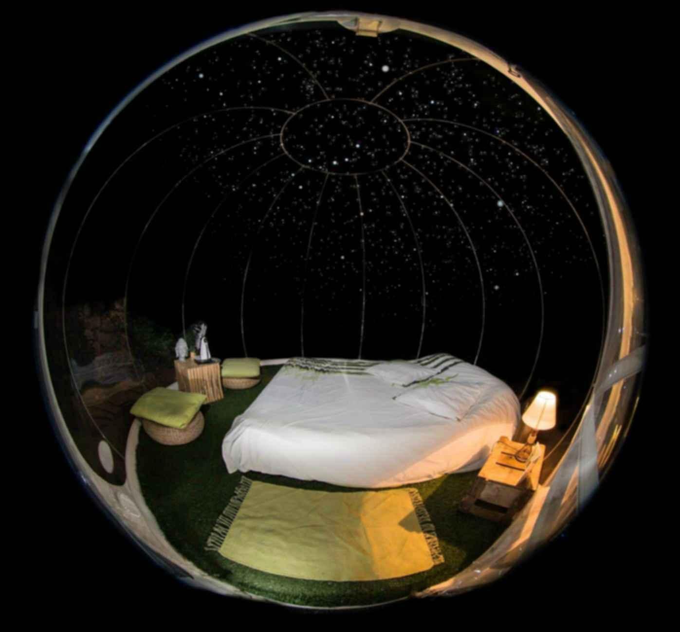 Attrap' Reves Hotel - Bubble Bedroom