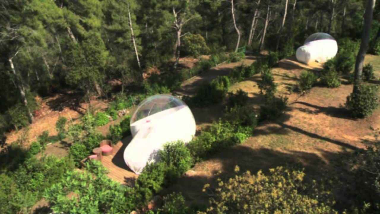Attrap' Reves Hotel - Bubble Bedroom/Landscape