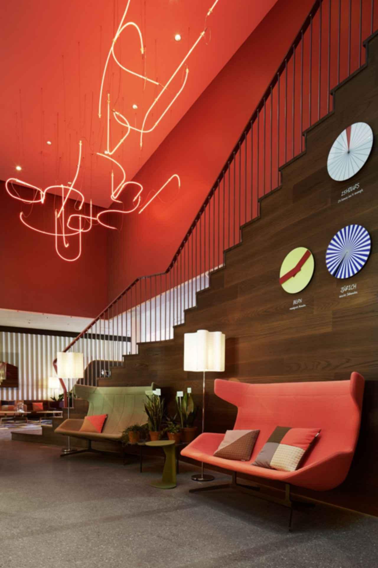 25hours Hotel Zurich West - Lounge Area
