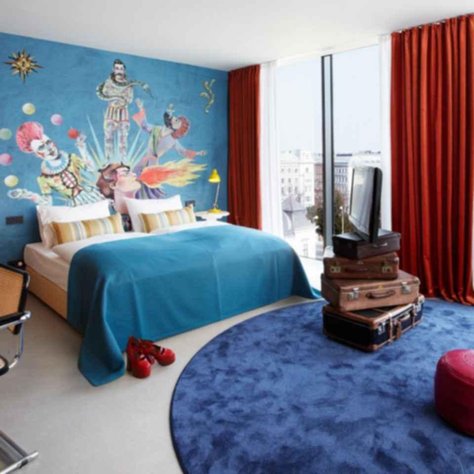 25hours Hotel Zurich West - Bedroom