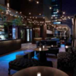 Upstairs at The Kimberley - Bar at Night