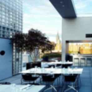 La Piscine at Hotel Americano - View from the Bar