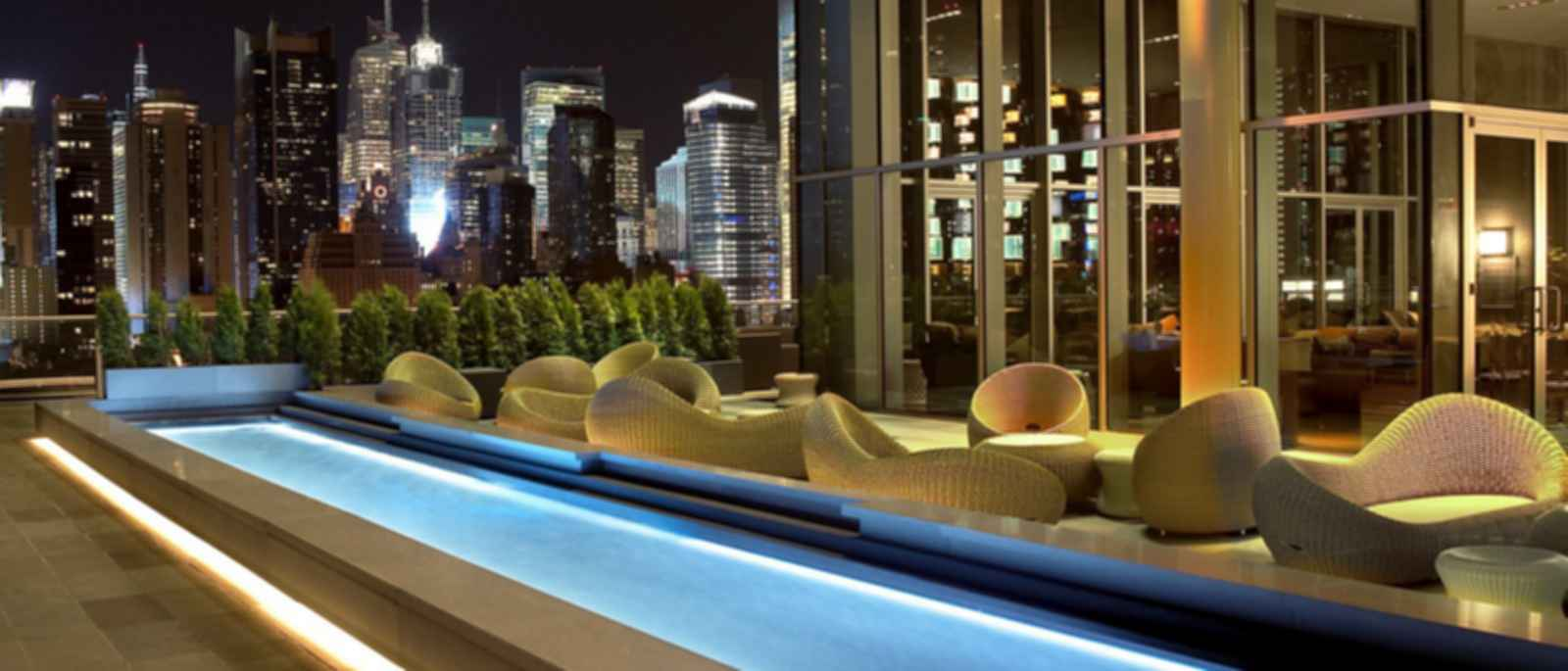 The Press Lounge at Ink 48 Hotel - Outdoor Area
