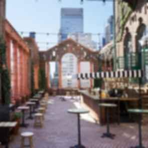 Pod 39 Rooftop Bar - Bar/Seating Area