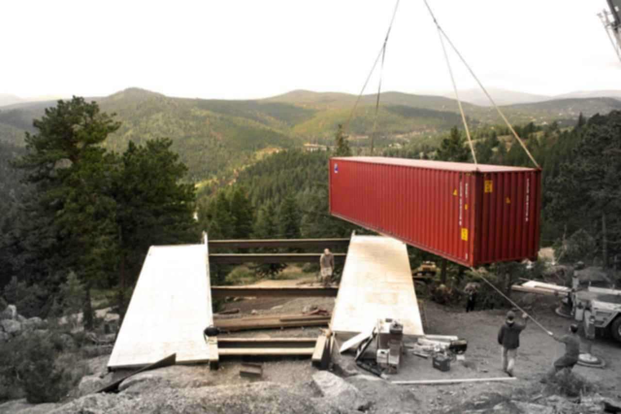 Container House 2 - Construction