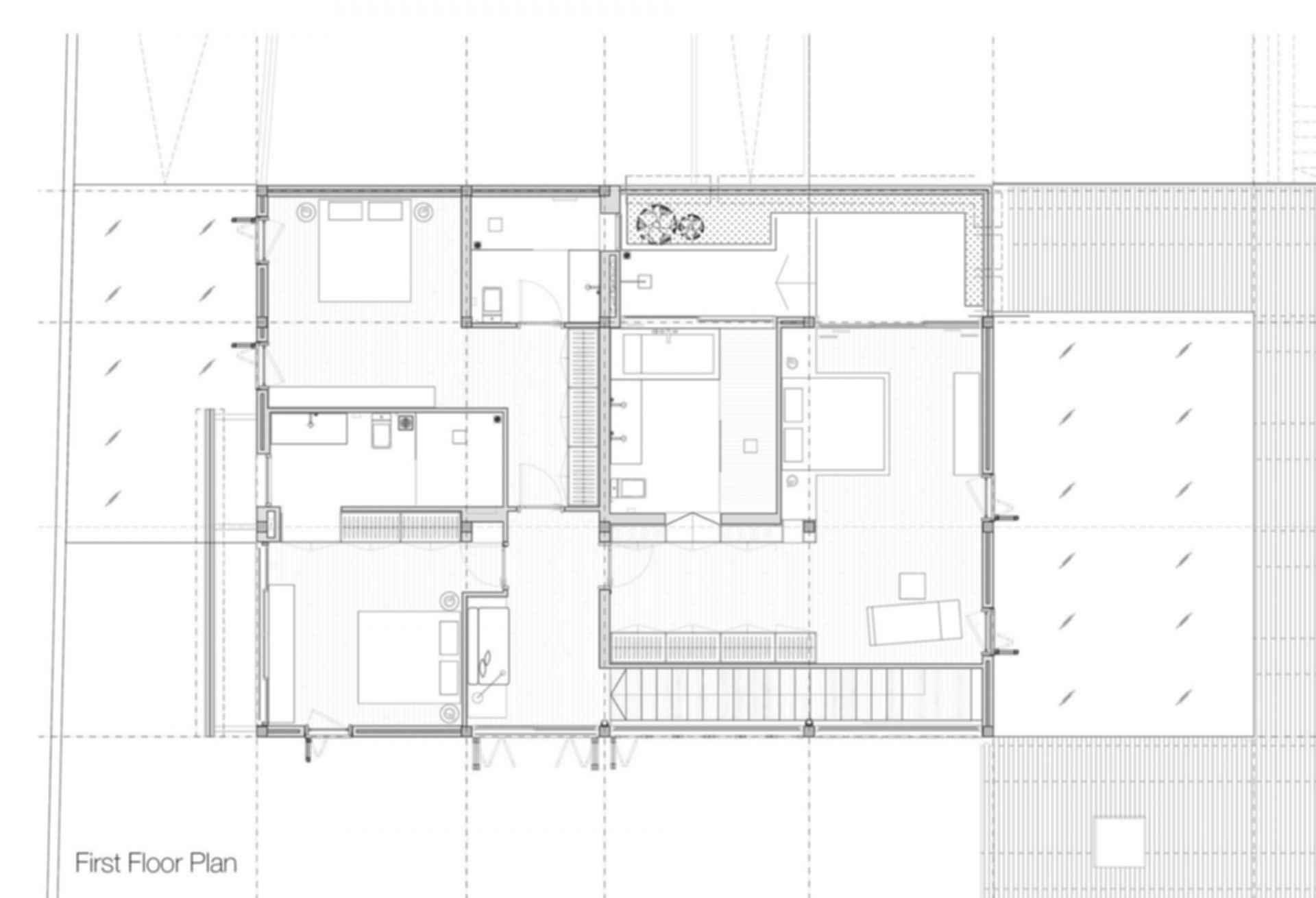 Thao Dien House - Floor Plan