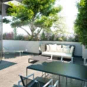 Bosco Verticale ( Residenza Porta Nuova ) - Outdoor Lounge Area