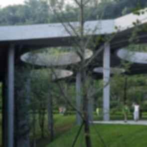 Chongqing Taoyuanju Community Center - Structures/Pillars