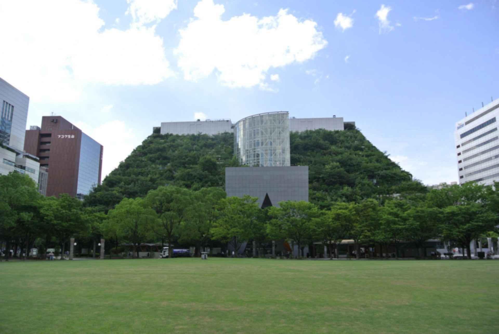 Acros Fukuoka International Hall - Exterior/Grass Area