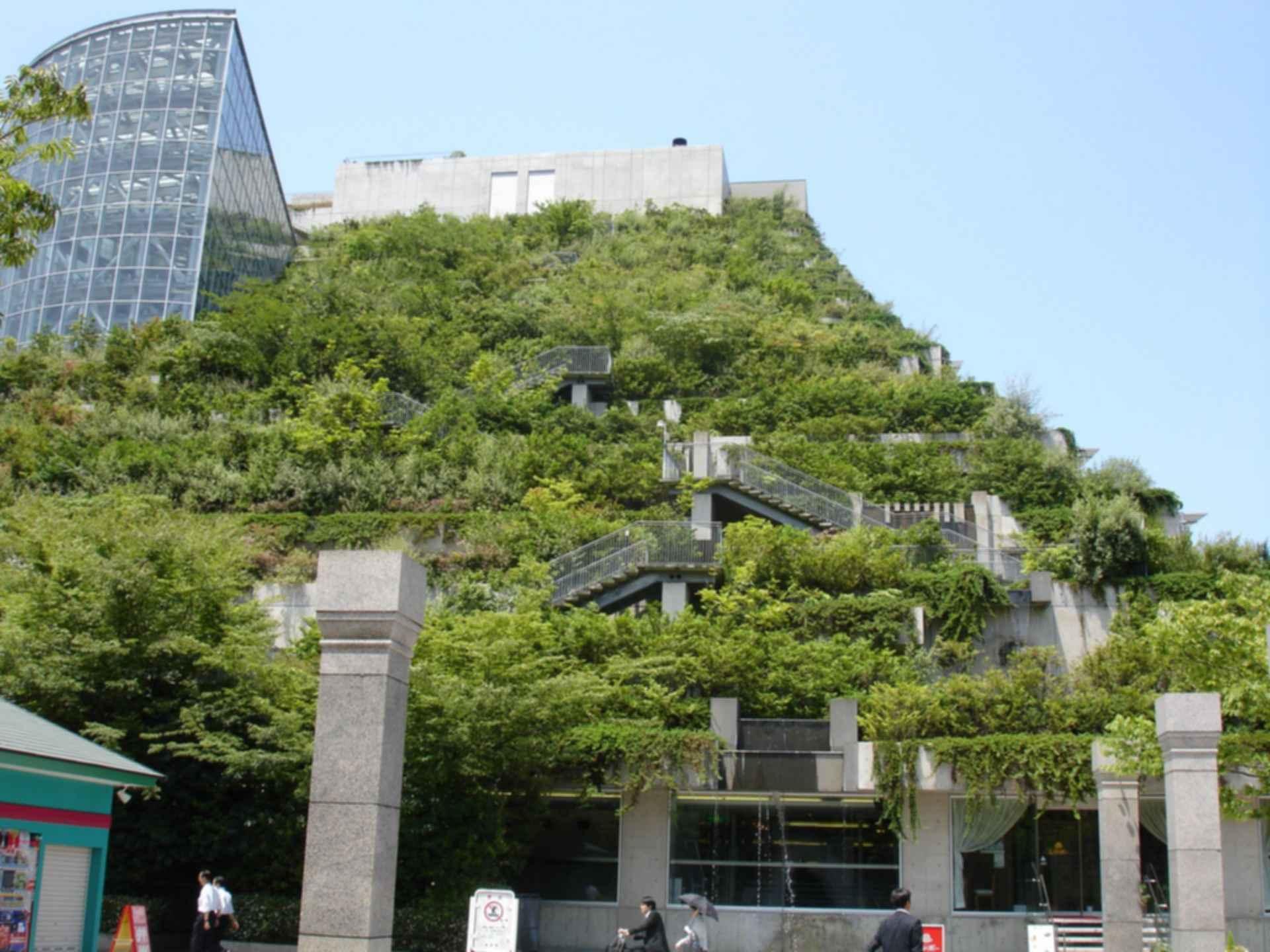 Acros Fukuoka International Hall - Exterior