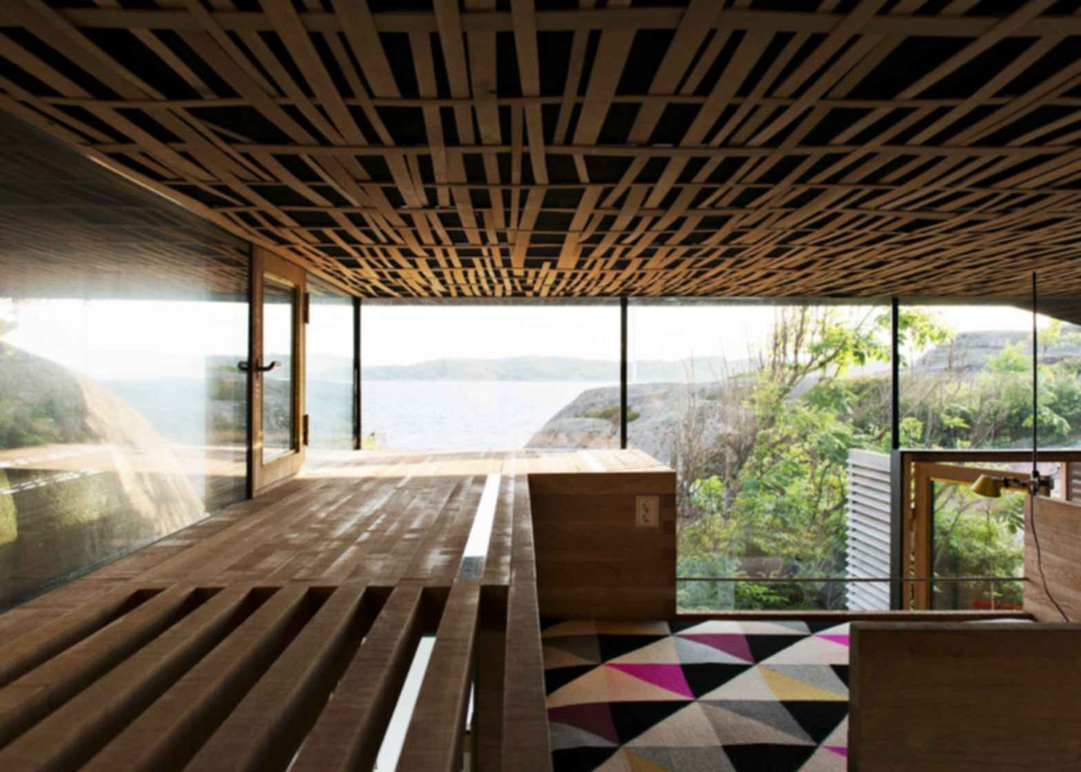 Cabin Knapphullet - Interior