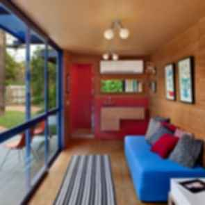 Container Guest House - Interior