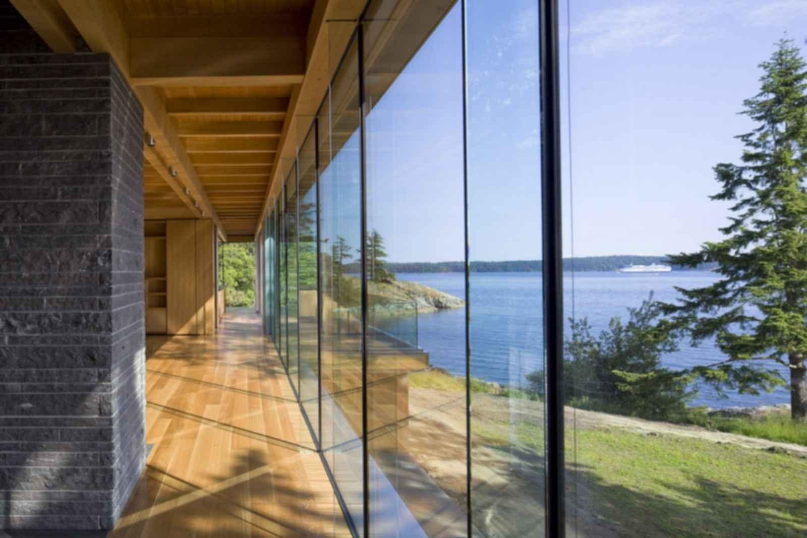 Gulf Islands Residence - Interior/Hallway