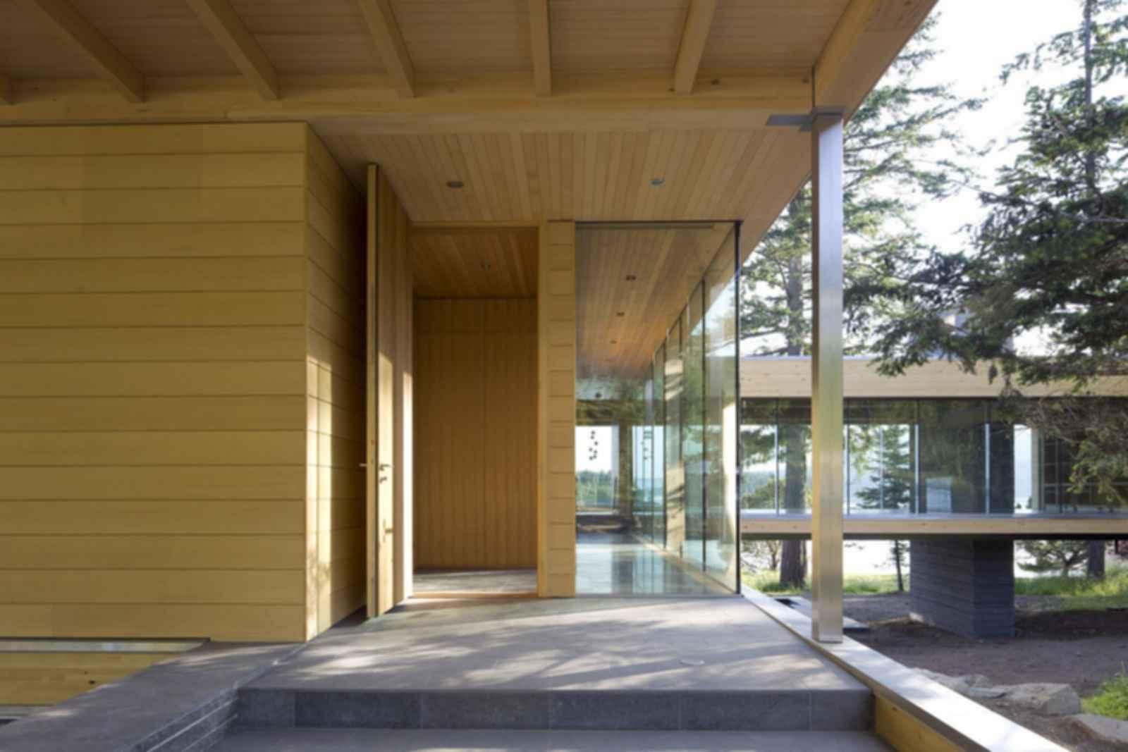 Gulf Islands Residence - Exterior/Entrance