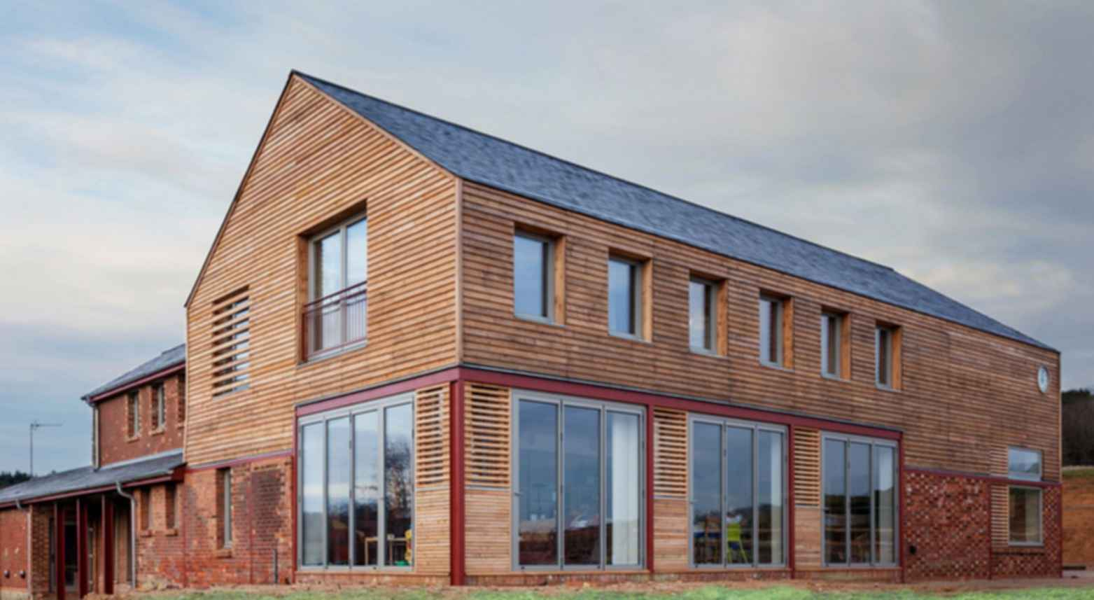 Timber Frame House - Exterior