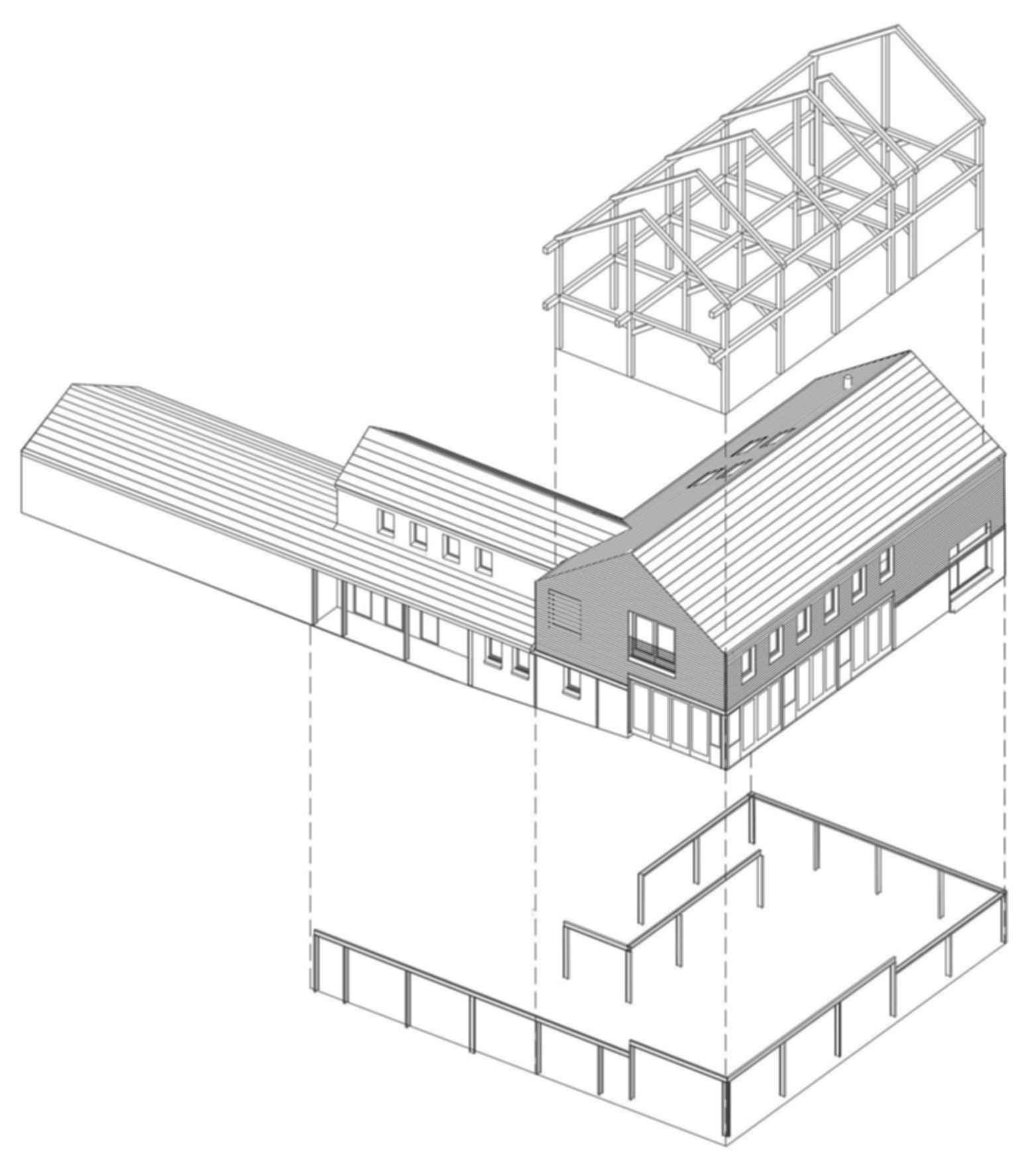 Timber Frame House - Concept Design