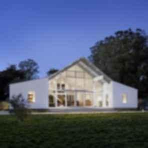 Hupome Ranch - Exterior at Night