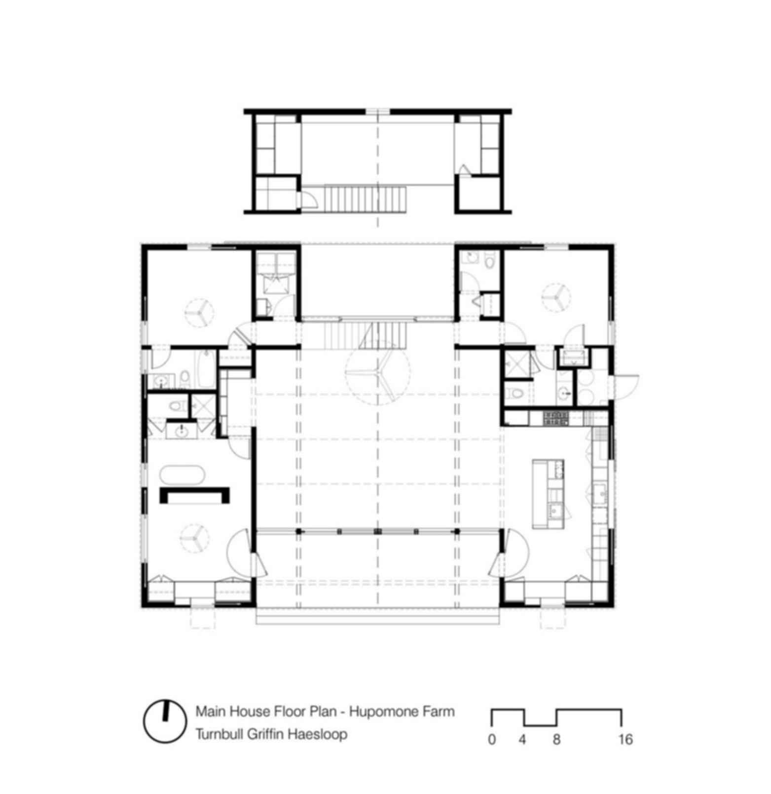 Hupome Ranch - Floor Plan