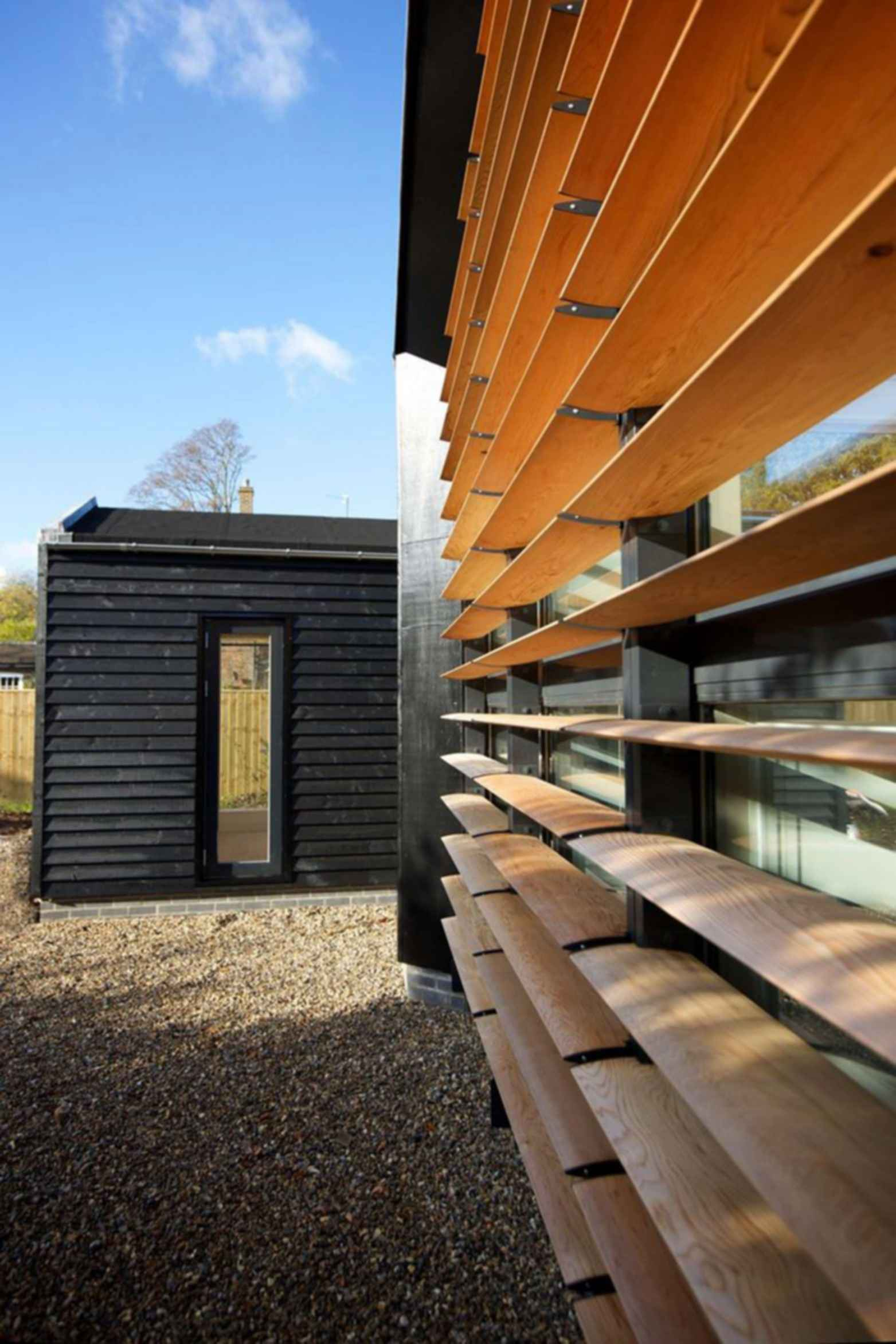 Bourne Lane House - Exterior/Wood
