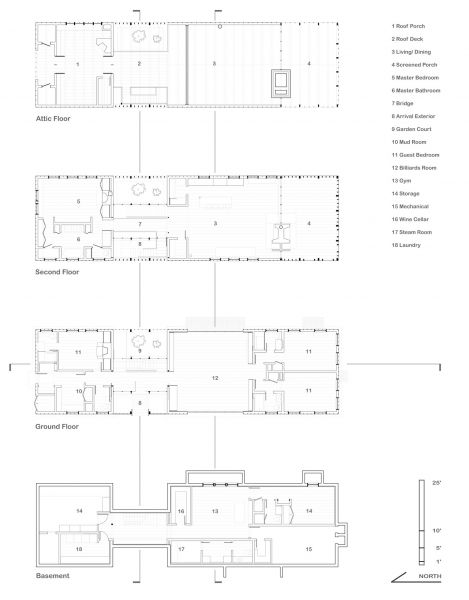 Louver House Barn Conversion Floor Plan