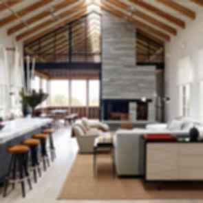 Louver House, Barn Conversion - Interior