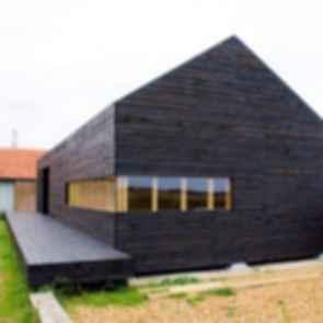 Stealth Barn House - Exterior
