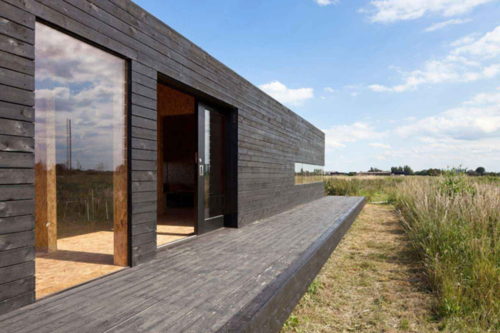 Stealth Barn House - Exterior/Decking