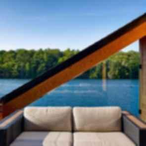 Lake Joseph Boathouse - Window Frame