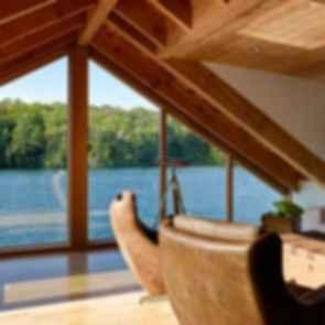 Lake Joseph Boathouse - Interior/Lounge