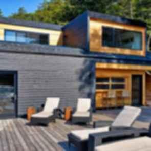 Lake Joseph Boathouse - Exterior/Decking